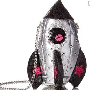 Betsey Johnson Rocketman Give Me Some Space Bag